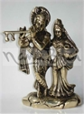 Picture of Radha Krishna Matka in Hand