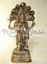 Picture of Vishnu Standing Seven Phun Snake