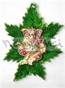 Picture of Ganesh Dancing on Seven Leaf