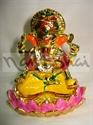 Picture of Ganesh Lotus Meena Gold