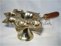 Picture of Arti 5 Batti Kaman Wooden Handle