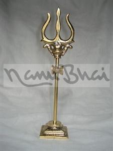Picture of Trishul Damru 2 Snake