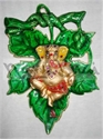 Picture of Ganesh Dancing Grapes Leaf
