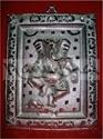 Picture of Ganesh Dancing Gola Frame