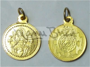 Picture of Laxmi Shri Yantra Locket