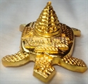 Picture of Meru Shri Yantra Tortoise Gold Plated